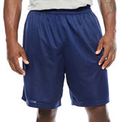 The Foundry Big & Tall Supply Co. Basic Mesh Workout Shorts