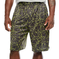 The Foundry Big & Tall Supply Co. Active Print Workout Shorts