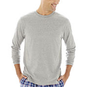 Stafford® Knit Crewneck Sleep Shirt –Big & Tall
