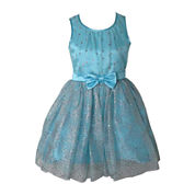 Pinky Sparkle Bow Ballerina Dress - Girls 7-16