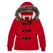 Girls Lightweight Fleece Jacket-Big Kid