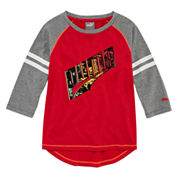 Puma Girls Graphic T-Shirt-Preschool