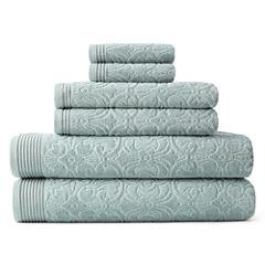 Royal Velvet Verona Sculpted 6-pc. Towel Set