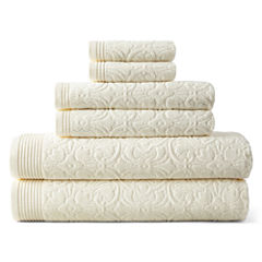Royal Velvet Verona Sculpted 6-pc. Towel Set