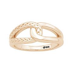 IN Love 14K Rose Gold Infinity Ring