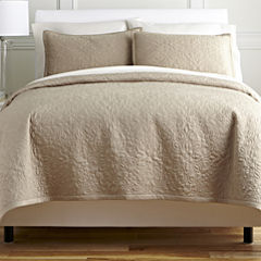 Royal Velvet® Medallion 3-pc. Coverlet Set & Accessories
