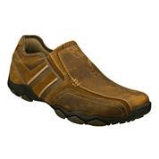Skechers® Zinroy Mens Leather Slip-On Sneakers
