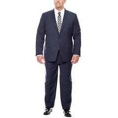 Claiborne® Blue Neat Suit Separates - Big & Tall