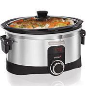 Hamilton Beach® IntelliTime™ 6-qt. Programmable Slow Cooker