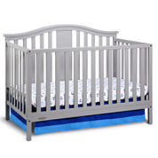 Graco Solano Crib with Mattress Collecion White