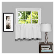 Camden Rod-Pocket Kitchen Curtains
