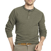 Arrow® Long-Sleeve Fleece Henley