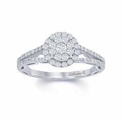 Enchanted by Disney 5/8 C.T. T.W. Diamond 14K White Gold