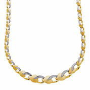 10K Yellow Gold Heart Necklace
