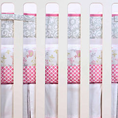 Just Born Fresh Air Pink Crib Liner