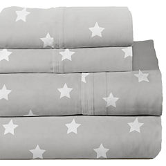 Lullaby Bedding Space Print Sheet Set