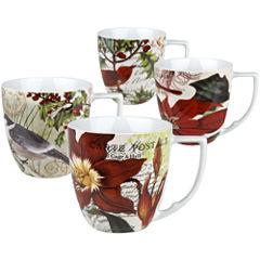 Waechtersbach Nature Set of 4 Assorted Mugs