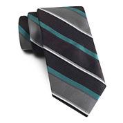 Van Heusen® Sensational Stripe Slim Silk Tie