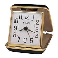 Bulova® Reliable II Travel Alarm Clock
