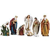 Roman 8-pc. Nativity Set with Angel
