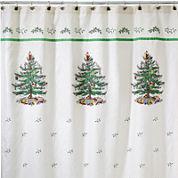 Spode® Christmas Tree Shower Curtain