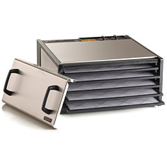 Excalibur® D500S 5-Tray Stainless Steel Dehydrator