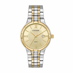 Citizen Mens Two Tone Bracelet Watch-Bi5024-54p
