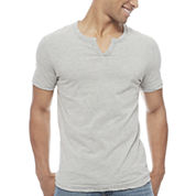 Arizona Short Sleeve YNeck Henley