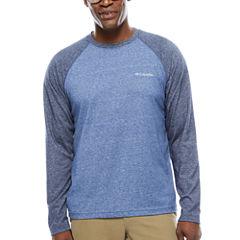 Columbia Long Sleeve Crew Neck T-Shirt