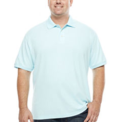 The Foundry Big & Tall Supply Co. Short Sleeve Solid Easy Care Polo