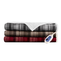 Woolrich Tasha Berber Heated Throw