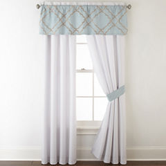Home Expressions Gretchen 2 Pack Curtain Panels