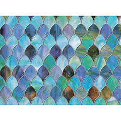 35in x 78in Peacock Door Premium Film