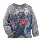 OshKosh Boy Gray Shirt 4-7