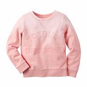 Carter's Girl Orange Totally Knit Fashion Top 4-8