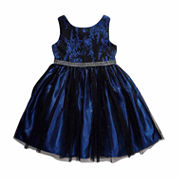 Young Land Sleeveless Party Dress - Toddler