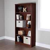South Shore Morgan 5-Shelf Bookshelf
