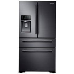 Samsung 29.7 cu. ft. 4-Door French Door Refrigerator in Stainless Steel