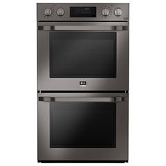 LG Studio 4.7 cu. ft. Large Capacity Electric Double Wall Oven