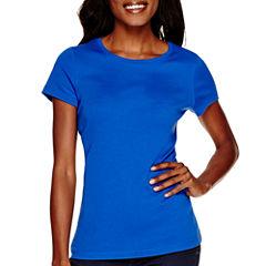 St. John's Bay® Short-Sleeve Crewneck T-Shirt - Tall