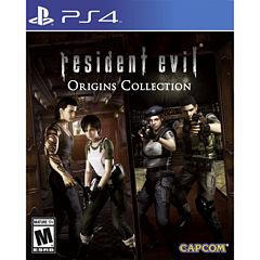 Resident Evil Origins Video Game-Playstation 4