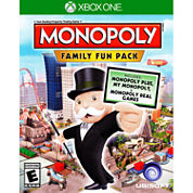 Monopoly Family Fun Pack Video Game-XBox One