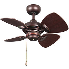 24in Copper Bronze Indoor Ceiling Fan