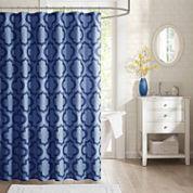 Intelligent Design  Elena Microfiber Shower Curtain