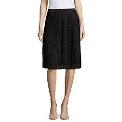 Liz Claiborne Pull-On Lace Pencil Skirt