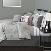 Marquis by Waterford® Arabesque Scroll 4-pc. Jacquard Comforter Set