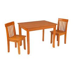 KidKraft® Avalon Table II and 2 Chairs Set - Honey
