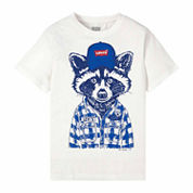 Levi's Boys Short Sleeve T-Shirt-Big Kid