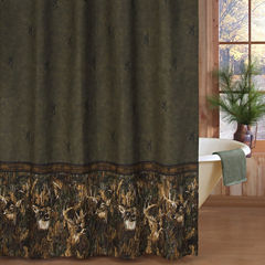 Browning Whitetails Shower Curtain