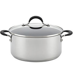 Circulon® Momentum 5-qt. Stainless Steel Nonstick Dutch Oven with Lid
